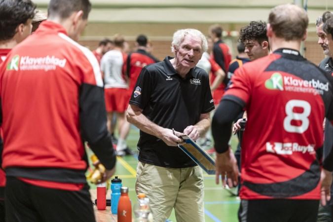 Volleybalcoach Bosch (71) komt thuis bij HHC: 'Velen zijn kinderen van de spelers die hier 35 jaar geleden waren'