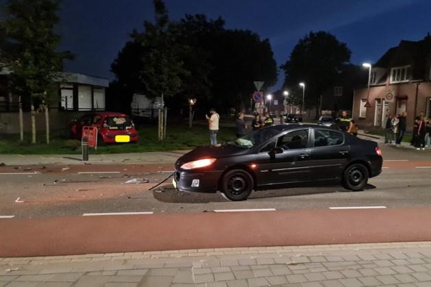 Bezorgauto eethuis betrokken bij ongeluk in Heerlen