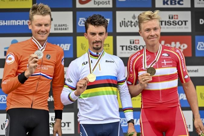 'Zilveren' Dylan van Baarle rijdt WK van zijn leven: 'Mooiste dag uit loopbaan'