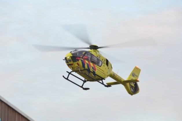 Traumahelikopter ingezet voor kind in noodsituatie