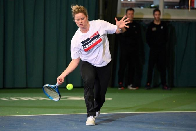 Tennisster Kim Clijsters verheugt zich op nieuwe rentree