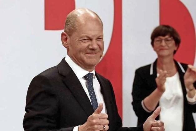 SPD wint de parlementsverkiezingen in Duitsland