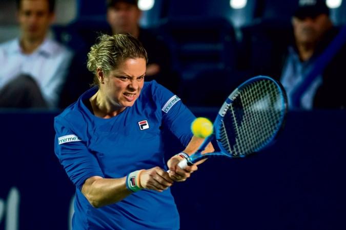 Kim Clijsters wacht nog steeds op 'mooi resultaat' na comeback