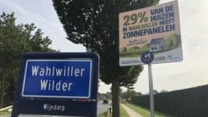 Wahlwiller met 29% koploper zonnepanelen in Gulpen-Wittem. Welke kern volgt?