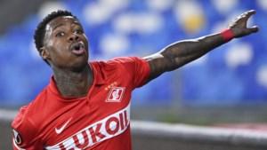 Quincy Promes helpt Spartak Moskou met twee doelpunten langs Napoli