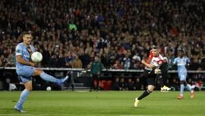 Eén helft gasgeven volstaat voor overwinning Feyenoord