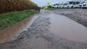Parcours Parijs-Roubaix ware modderpoel