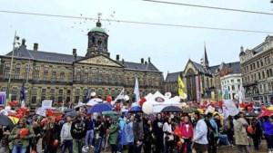 Galg en doodsbedreiging Hugo de Jonge bij coronaprotest op de Dam