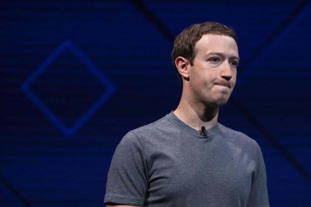 Facebook: storing geen kwade opzet