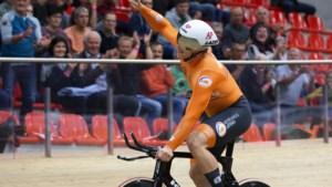 Jeffrey Hoogland klasse apart op kilometer tijdrit bij EK baanwielrennen