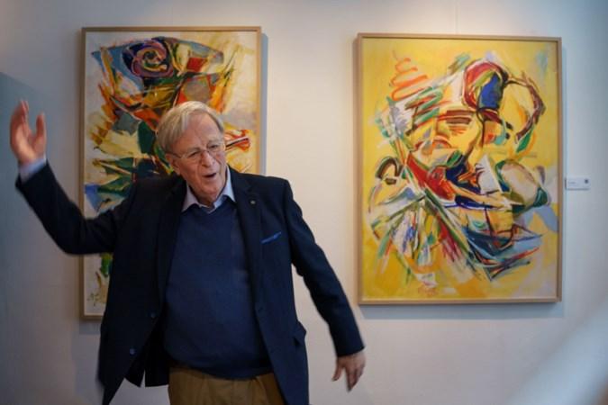 Zijn werk geeft de dove kunstenaar Jan van Genk (82) een stem: 'Communiceren met mensen is altijd mijn grote wens geweest'