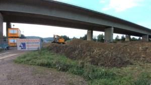 Nieuwe regenwaterbuffer onder viaduct A79 tussen Valkenburg en Houthem