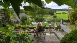 Van Susteren naar een poppenhuis op de heuvels in Wijlre: 'Voor mijn man voelt dat als het echte Limburg'