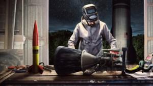 Serie: Ruimtegekken knutselen aan raketten om zichzelf de ruimte in te schieten