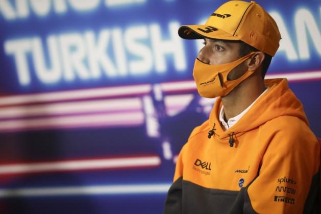 Ricciardo start achteraan in GP Turkije na gridstraf