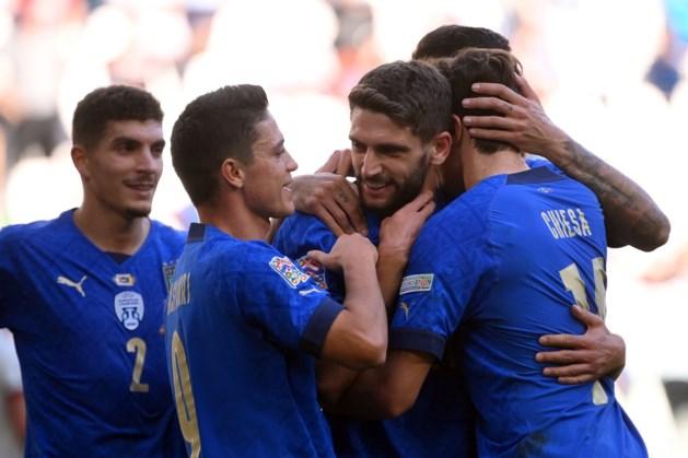 Italië klopt België in troostfinale Nations League