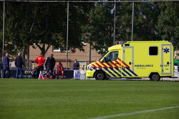 Speler EHC/Heuts afgevoerd naar ziekenhuis na kopduel met tegenstander