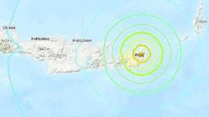 Aardbeving voor de kust van Kreta