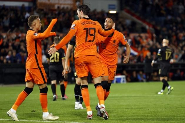 Oranje klopt Gibraltar (6-0) en blijft op koers voor plaatsing WK
