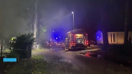Video: Caravan uitgebrand op camping De Schatberg