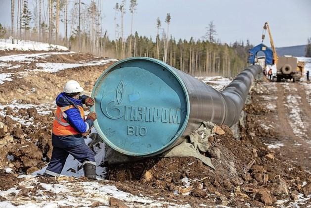 Kremlin: gaslevering aan Europa op maximaal niveau