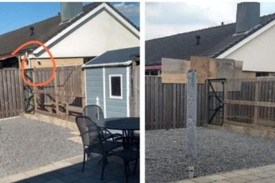 Camera afgeschermd, buurvrouw voelt zich niet meer bespied in haar tuin