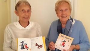 Zussen Tonny (81) en Gea (80) uit Maastricht maken samen kinderboek 'Heksje Krikkekrak'
