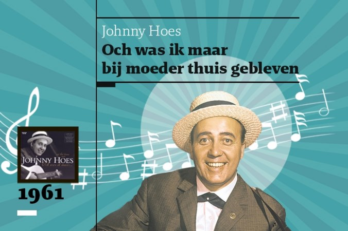 Tot verdriet van veel Venlonaren scoort Johnny Hoes met 'Och, was ik maar' de grootste Nederlandstalige hit ooit
