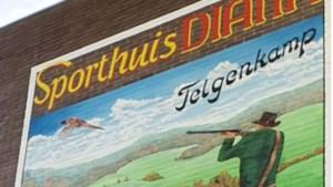 Mural Sporthuis Diana Heerlen in ere hersteld