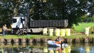 Vaten gedumpt in kanaal Wessem-Nederweert