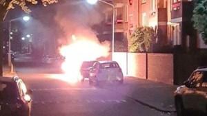 Auto's branden volledig uit in Venlo