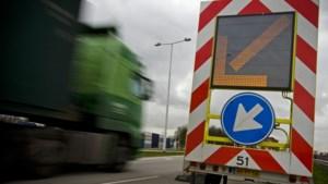 Verkeershinder door werkzaamheden aan waterafvoer A2 bij Meerssen
