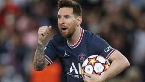Messi redt Paris SG met twee treffers tegen Leipzig