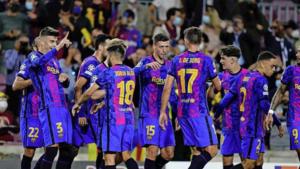 FC Barcelona pakt eerste punten in Champions League