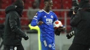 Aanvaller Daka scoort vier keer voor Leicester in Europa League