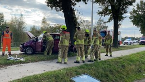 Automobilist gewond na botsing tegen boom in Egchel