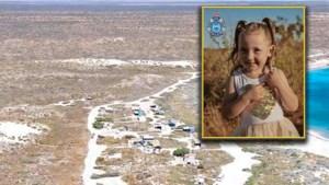 Vermissing van kleuter in Australië: 'Vierjarige Cleo kan haar tent niet zelf geopend hebben'