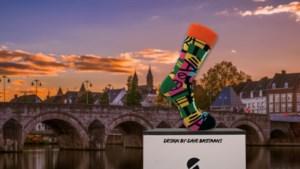 Met deze kleurige sokken van Dave uit Maastricht wordt iemand anders weer geholpen
