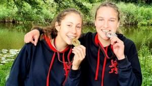 Jonge atletiektalenten Jolie Baerveldt en Jinte Kreugel: vriendschap met elkaar én met de speer