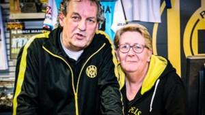 Lonny en Pierre Vermeulen nemen afscheid van Fanshop Roda JC