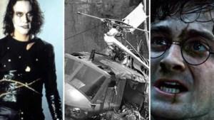 Van Russisch roulette tot de dood die in de film belandde: de ergste Hollywood-ongelukken