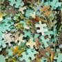 Aftrap gezamenlijk leggen van megapuzzel in Vaals op laatste dag oktober