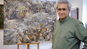 Syrische schilder Ahmed Kleige legt woeste gezicht van onstuimige Geul vast