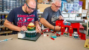 Mini LEGO-wereld te zien in Klaver 4 in Brunssum: 'Jong en oud is welkom om kennis te maken met de onbegrensde mogelijkheden'