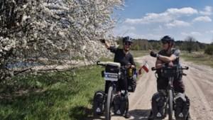 Wereldreizigers op fiets moeten in thuisstad Maastricht op zoek naar onderdak