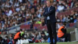 Barcelona breekt met trainer Koeman