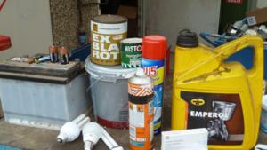 Klein Chemisch Afval wordt ingezameld in november