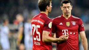 Bayern blameert zich in Duitse beker tegen Borussia Mönchengladbach