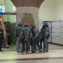 Arrestatieteam in actie op station Maastricht