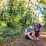 Genietend van het herfstbos komen we steeds vaker met volle tassen terug: 'Voor de wet is het stropen'